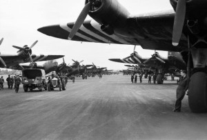 Stirling aircraft used to supply troops during Operation Market Garden