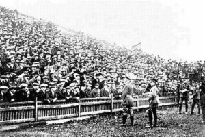 1858 Hall-Edwards recruiting at the Blues ground