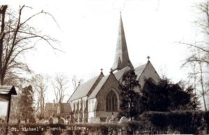 Boldmere Church before the fire.