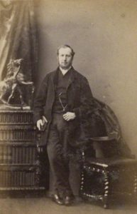 Rev. William Riland Bedford by Camille Silvy, albumen print, 9 January 1861.